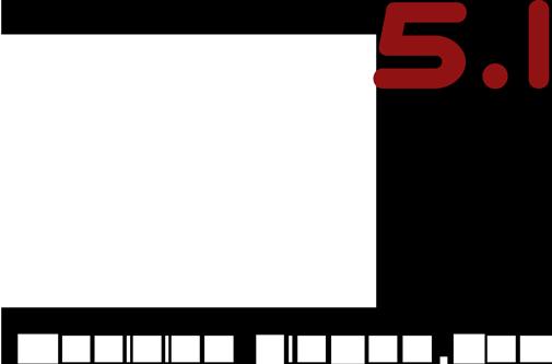 Logo Officina 5.1 - Roma - Studio di postproduzione audio per cinema e televisione