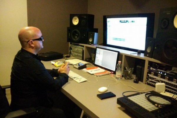 Giovanni Falzone - Studio Session ad Officina Musicale