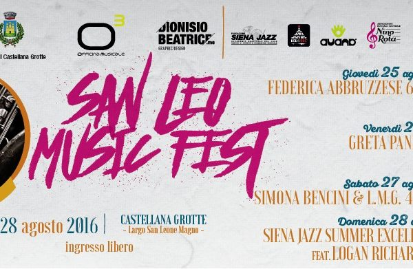 IL SAN LEO MUSIC FEST 2016 SI DIPINGE DI ROSA - Il Programma