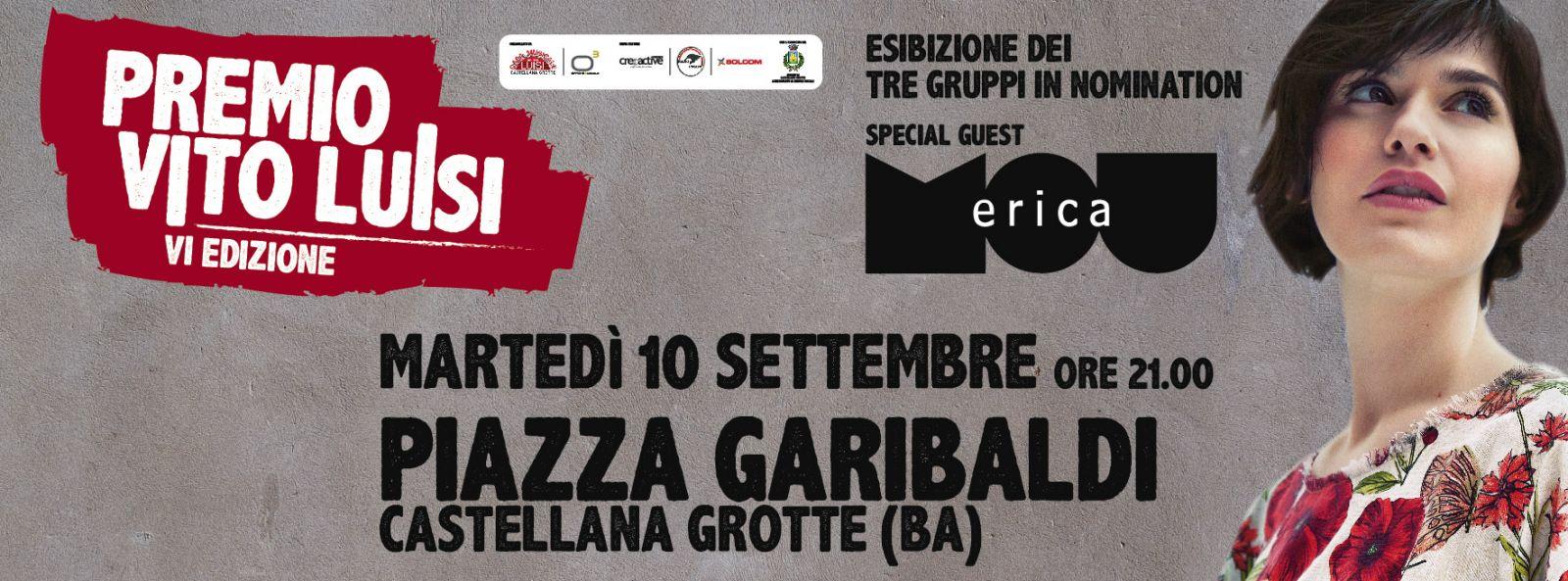 PREMIO VITO LUISI – serata di premiazione | 10 settembre | Castellana Grotte
