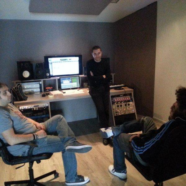 Fumarola, Petruzzellis, Pace - Studio Session ad Officina Musicale