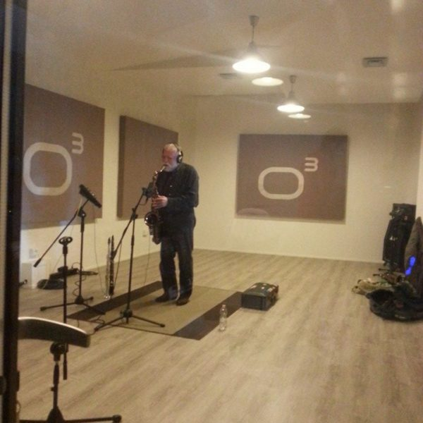 Suono C & Peter Brotzmann - Studio Session ad Officina Musicale