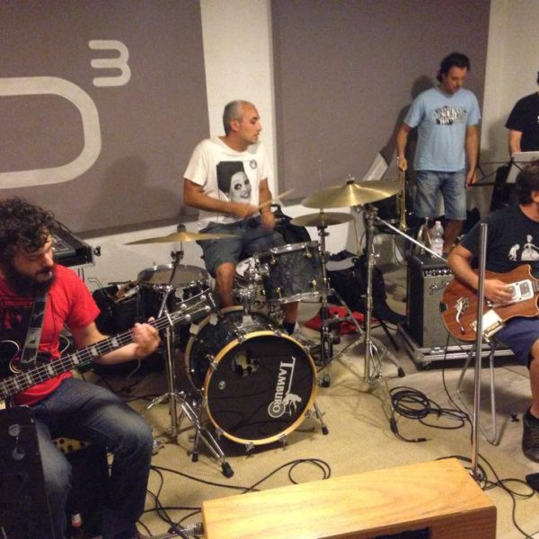 Calibro 35 - Studio Session ad Officina Musicale