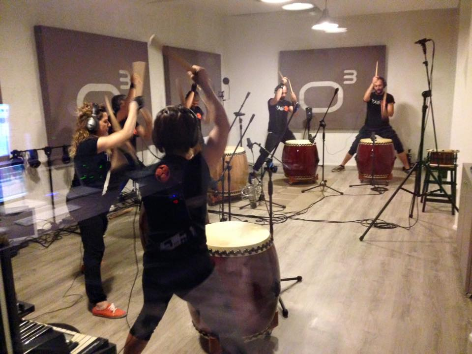 Taiko - Studio Session - Officina Musicale