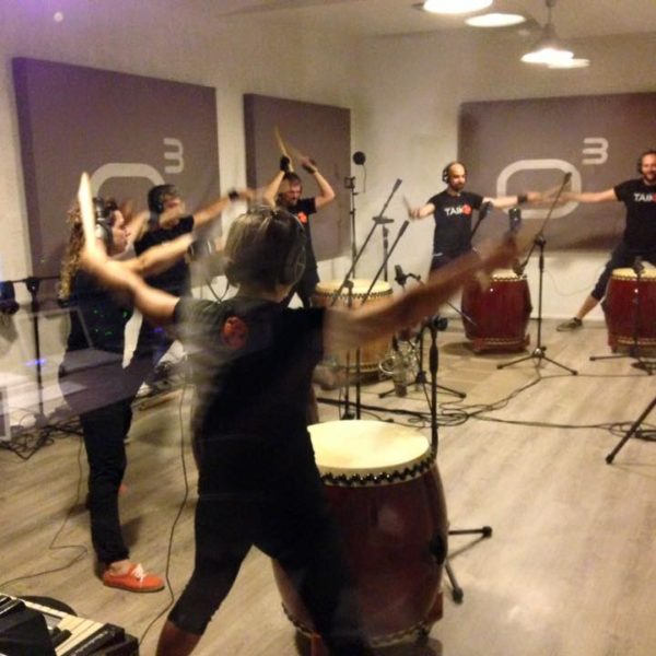Taiko - Studio Session ad Officina Musicale