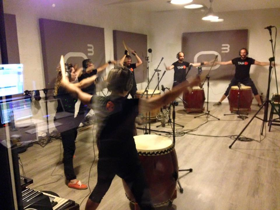 Taiko - Studio Session - Officina Musicale