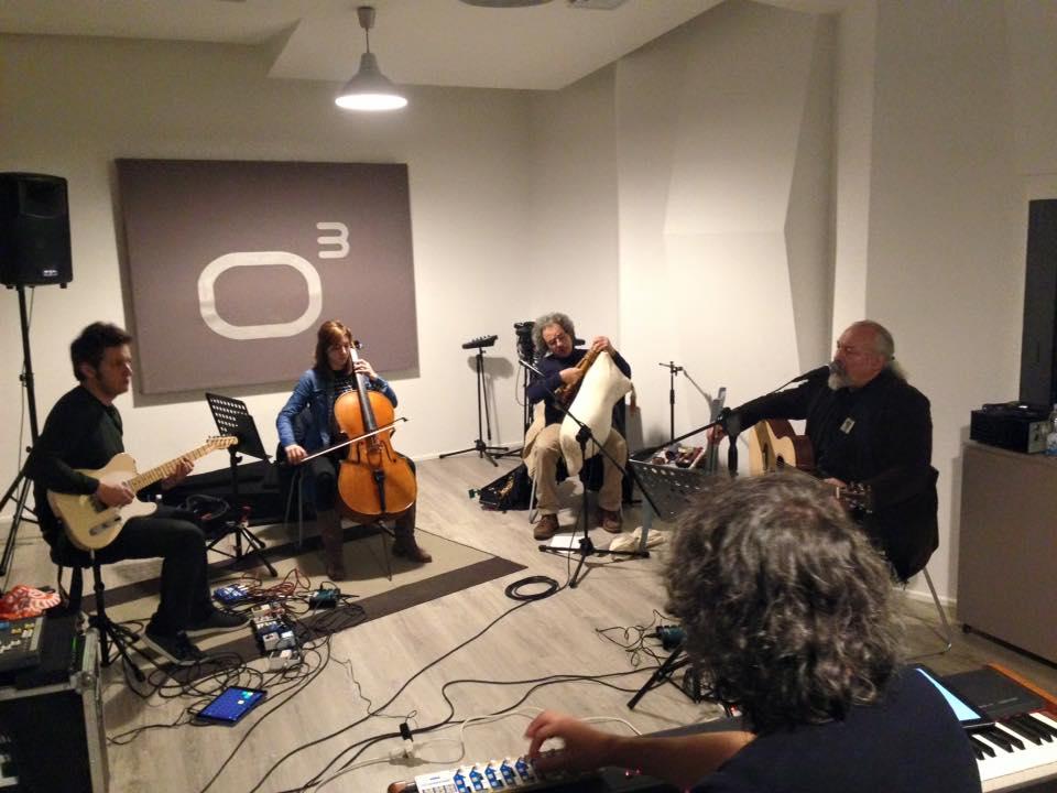 Eugenio Finardi - Studio Session - Officina Musicale