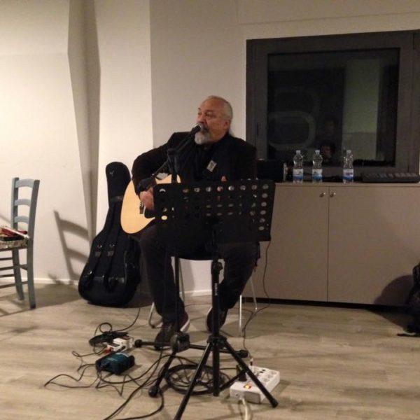 Eugenio Finardi - Studio Session ad Officina Musicale