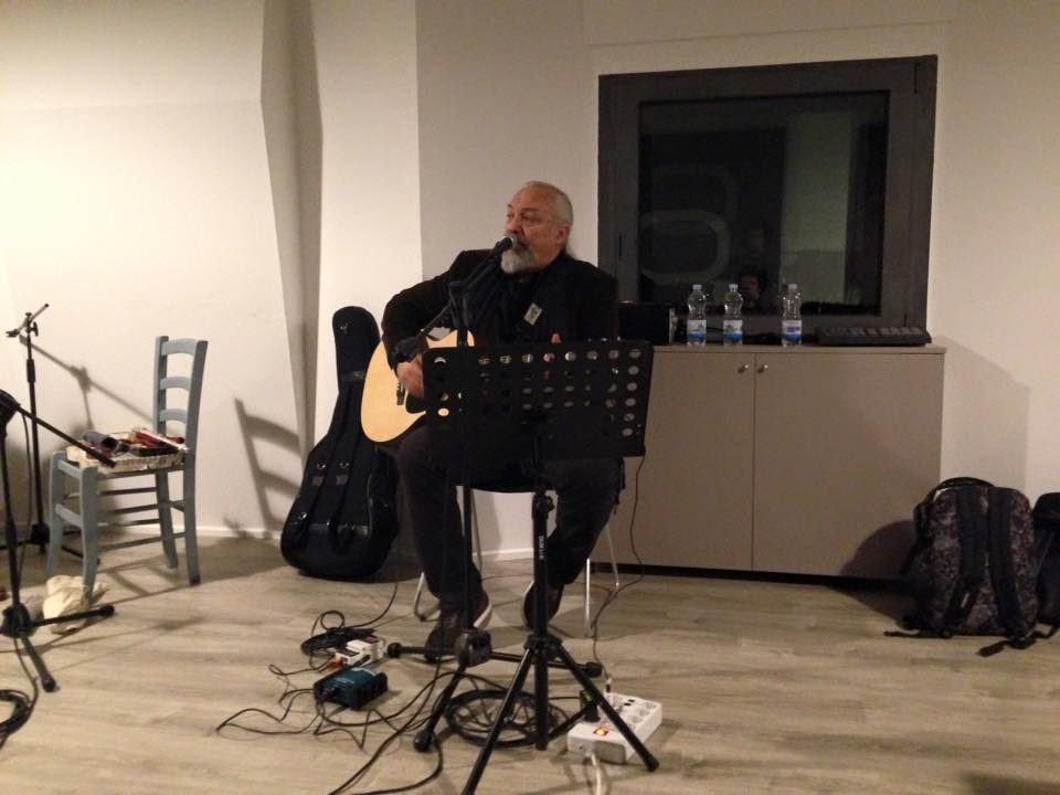 Eugenio Finardi - Studio Session - Officina Musicale