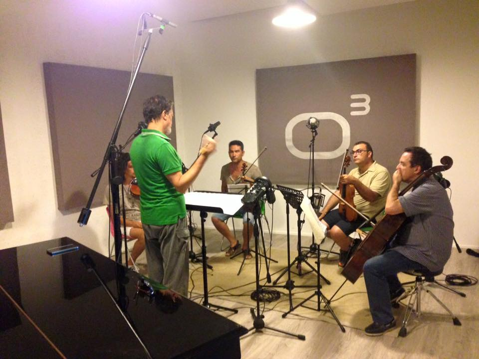 Maurizio Lomartire - Studio Session - Officina Musicale