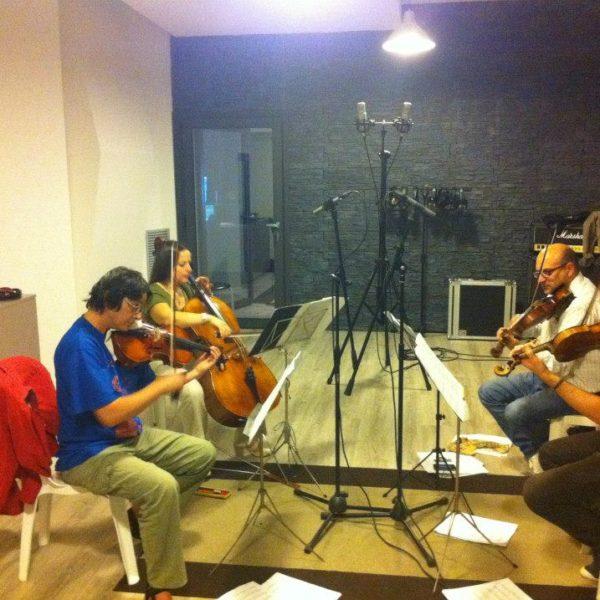 Vito Palumbo - Composer - Studio Session ad Officina Musicale