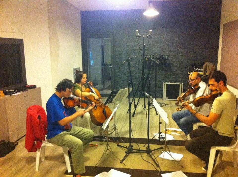 Vito Palumbo - Composer - Studio Session - Officina Musicale