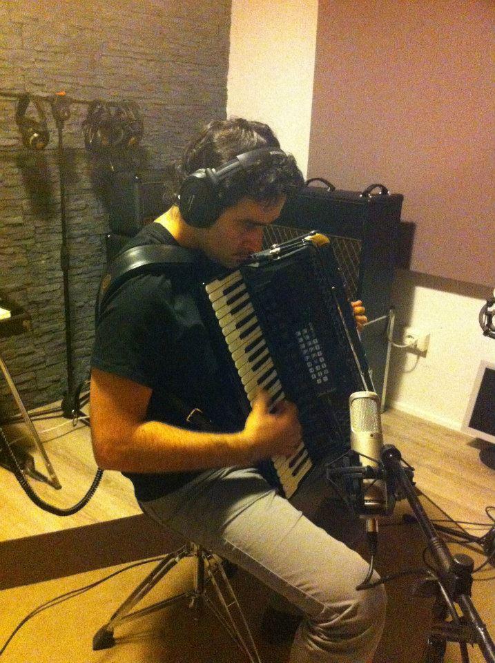 Fabio Accardi - Studio Session - Officina Musicale