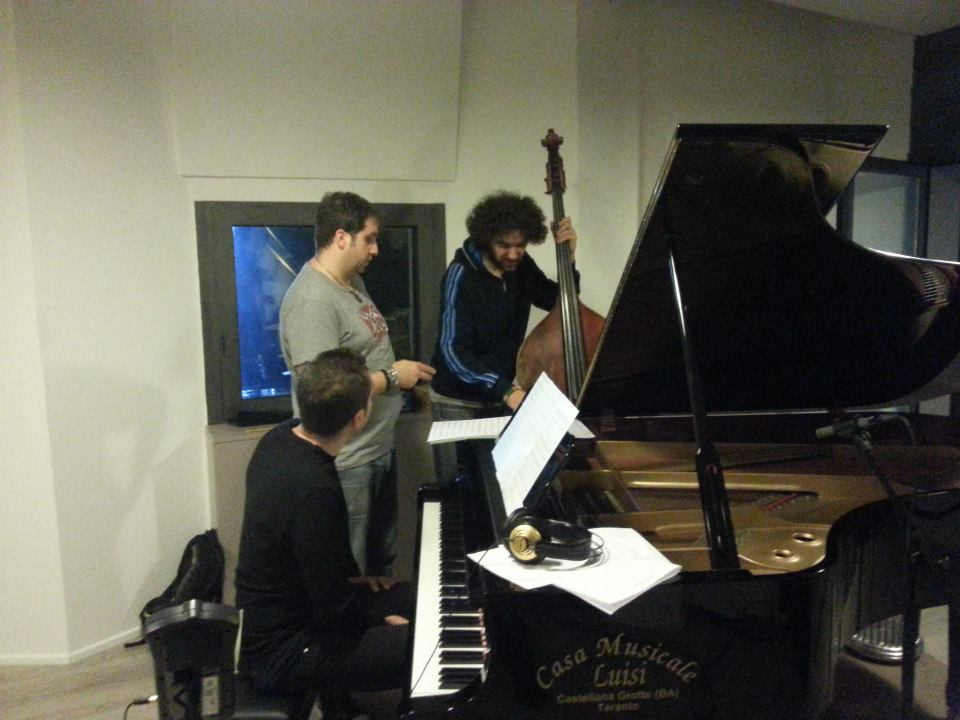 Fumarola, Petruzzellis, Pace - Studio Session - Officina Musicale