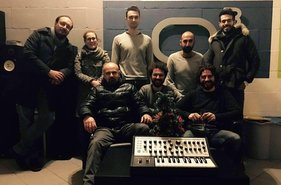 The Co-working team in Officina Musicale
