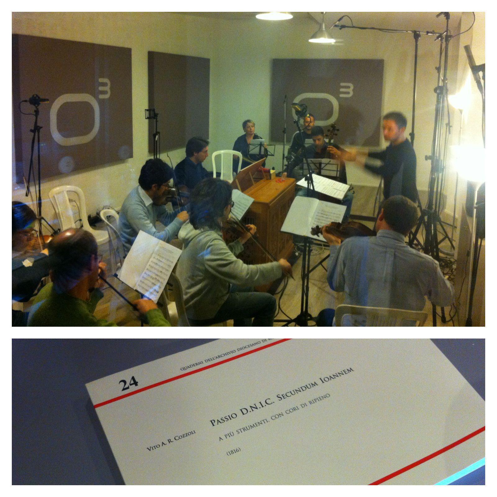 Cappella Musicale Corradiana - Studio Session - Bed&Rec - Officina Musicale