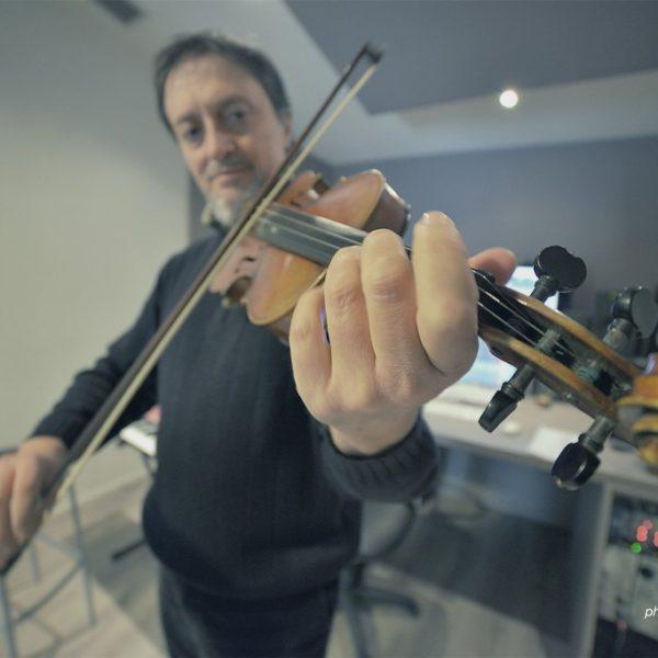 Maurizio Lomartire - Studio Session ad Officina Musicale