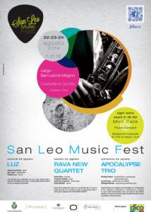 Programma San Leo Music Fest 2014 - Castellana Grotte - Organizzato da Officina Musicale
