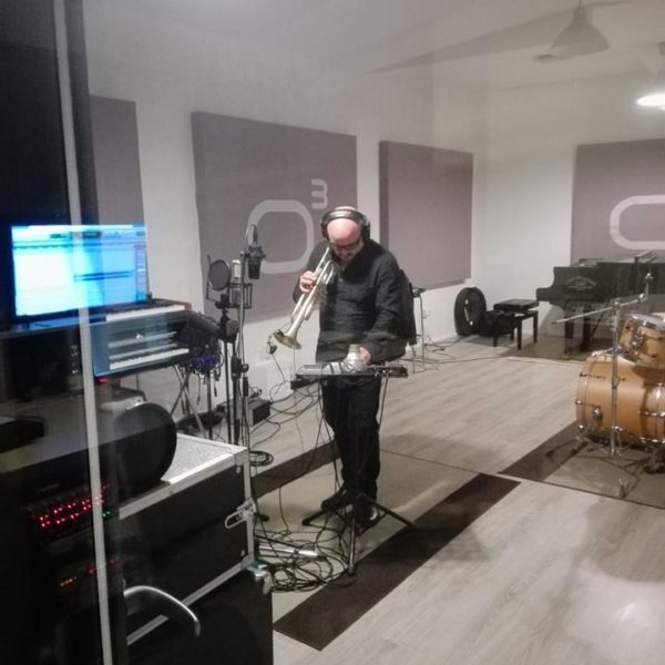 Giovanni Falzone - Studio Session ad Officina Musicale