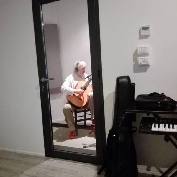 Maurogiovanni, Di Modugno, Liberti - Studio Session ad Officina Musicale