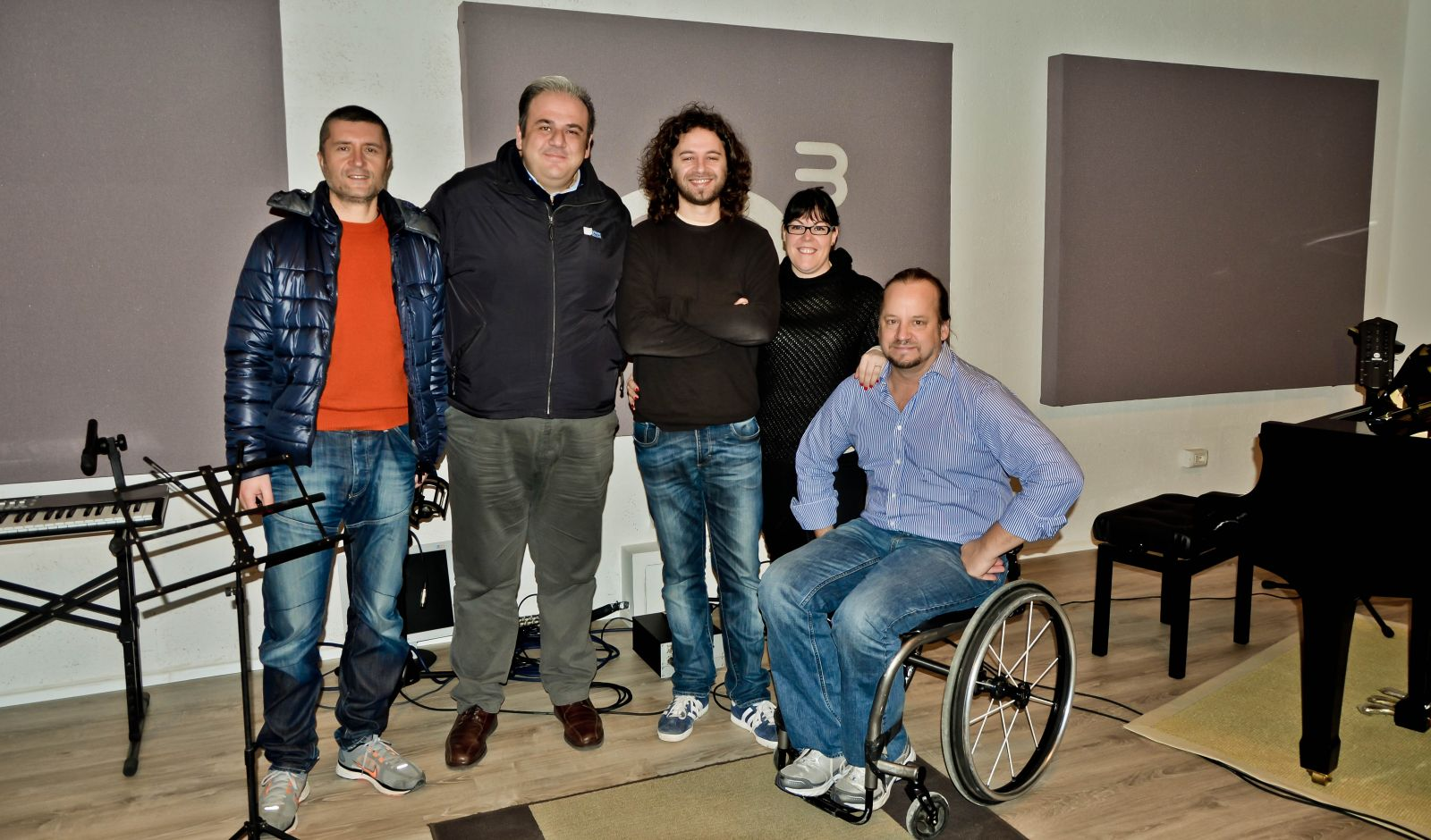 SCOTT GLEDHILL, MEYER SOUND, IN VISITA IN OFFICINA