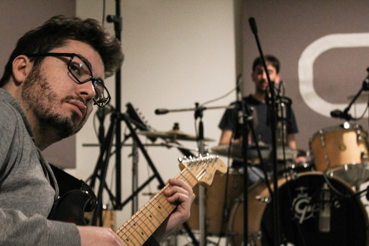 AcomeAndromeda - Studio Session ad Officina Musicale