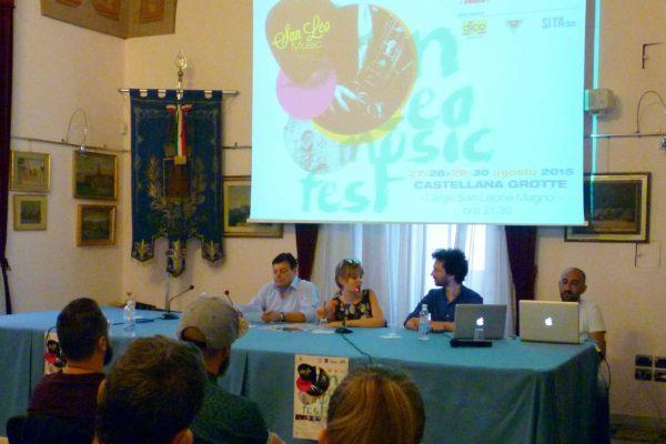 Conferenza Stampa Officina Musicale - SVELATE LE NOVITA' DEL SAN LEO MUSIC FEST 2015