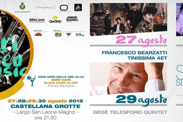 Programma San Leo Music Fest 2015 - Castellana Grotte - Organizzato da Officina Musicale