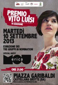 PREMIO VITO LUISI - serata di premiazione | 10 settembre | Castellana Grotte