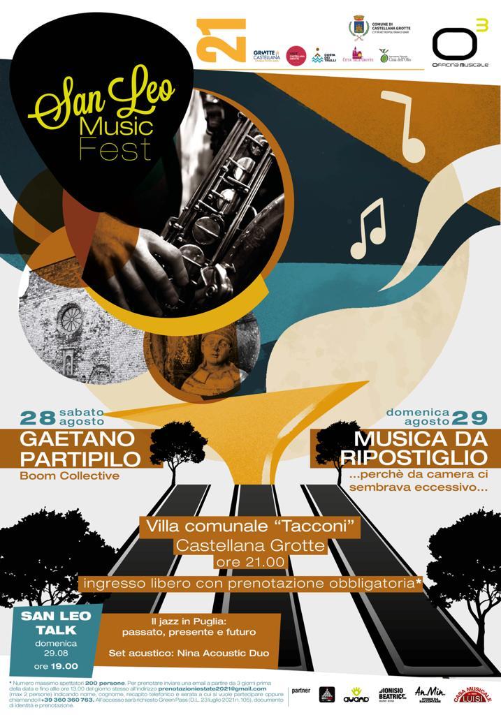 San Leo Music Fest 2021 locandina